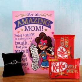 Bracelet  And Chocolate Gift Hamper