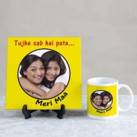 Personalized Tile And Mug