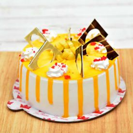 Tempting Mango Cake