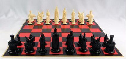 Gallant Knight Florentine Chess Board