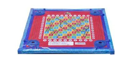 Megaplay Fun Carrom Board (Multicolor)