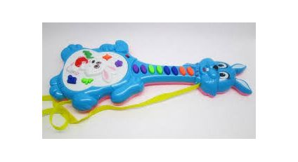 rabbit electronic guitar music piano