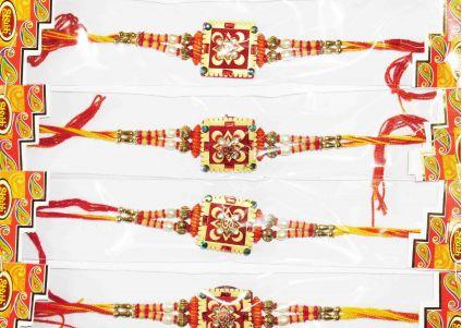 4 Rakhi Set