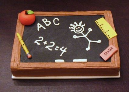 Happy Teacher's Day Cake For Teacher With Name
