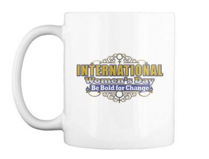 Printed White Coffee Mug