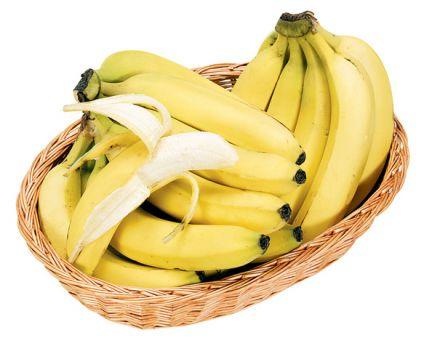 Banana with basket