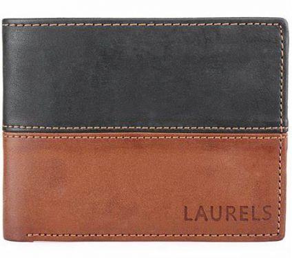 Laurels Urban Tan Mens Wallet