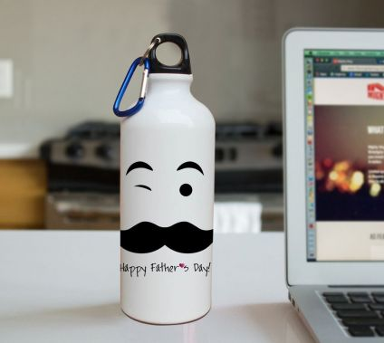 Happy Father's day printed Sipper 600 ml