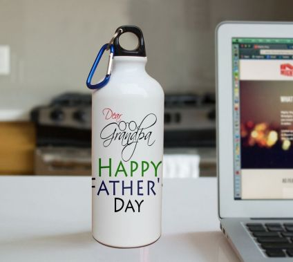 Happy Father's day White Sipper 600 ml
