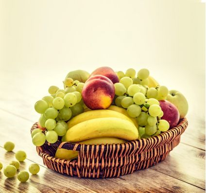 Fruits with Basket