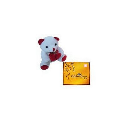 6 inch Teddy Bear & Cadbury Celebration Pack