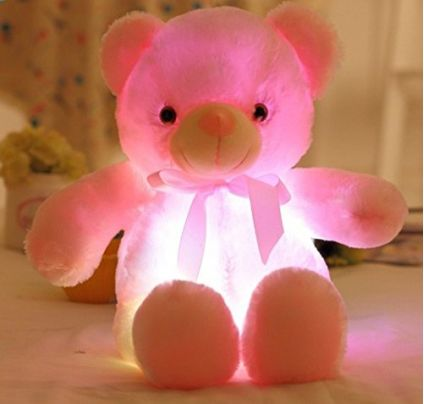 LED Inductive softt Toy Teddy