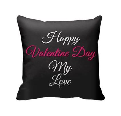 Happy Valentine day Cushion Cover