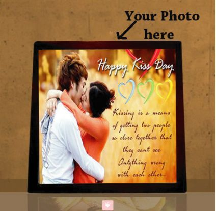 Happy Kiss Day Tiles