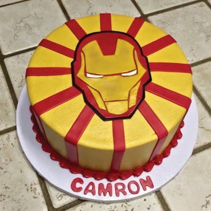 3KG Iron Man cake