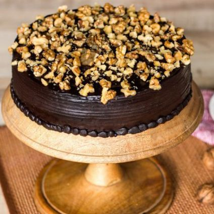 Choco walnut delicious cake