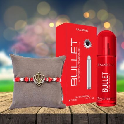 Bullet Perfume with Rakhi