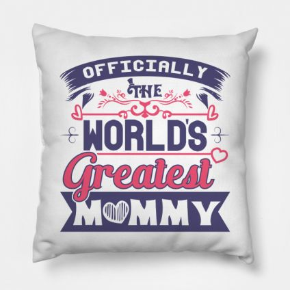 Non Personalised Cushion - World Greatest Mummy