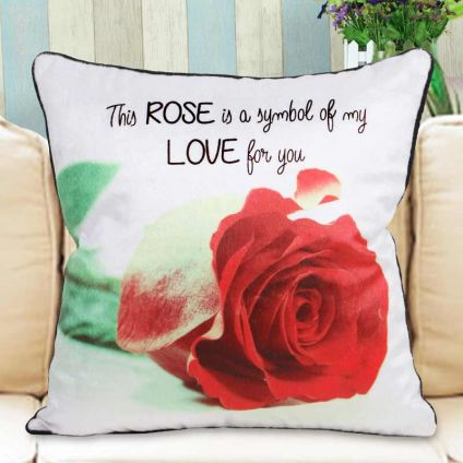 Rose Cushion