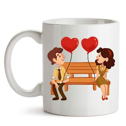Lovers Valentine Coffee Mugs
