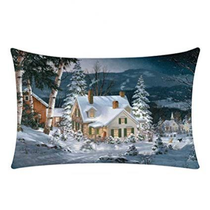 Christmas Landscape Cushion