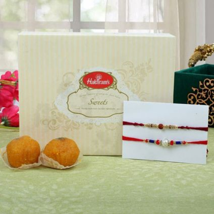 sweets and beautiful bracelet Rakhis