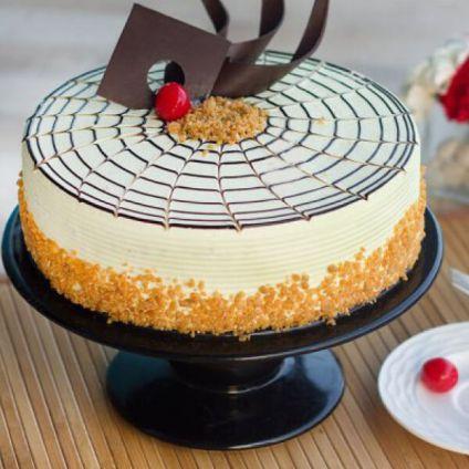 Butterscotch Crunchy Cake