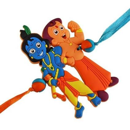 Chhota Bheem and Little Krishna rakhi
