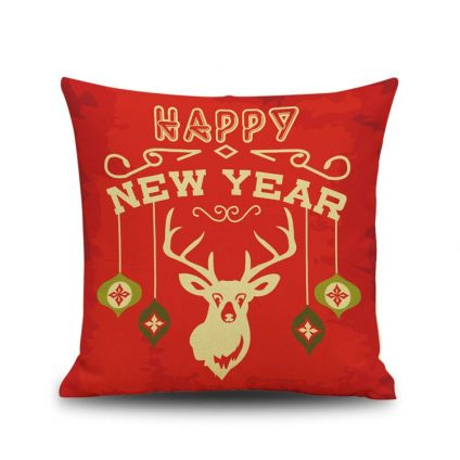 Happy new year cushion