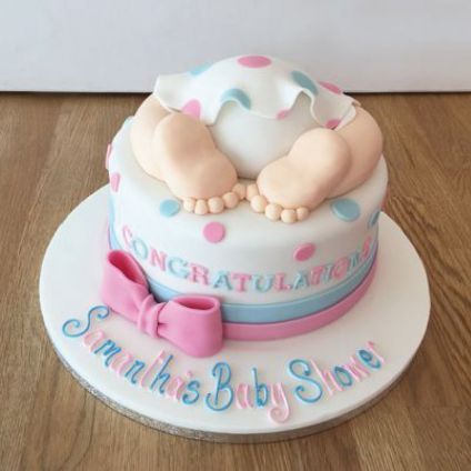 3KG New Baby Born Cake