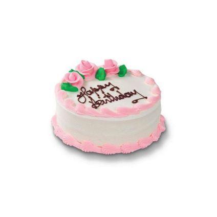 Colorful Cream Cake