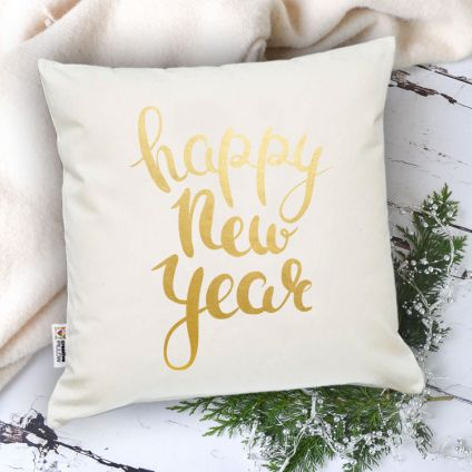 Rainbow New Year Cushion