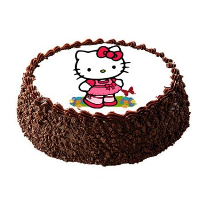 Hello Kitty Photo Cake