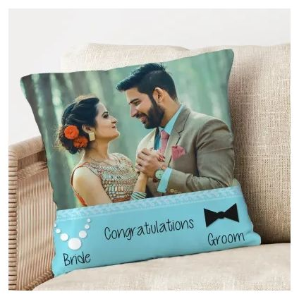 Personalized cushion for new year