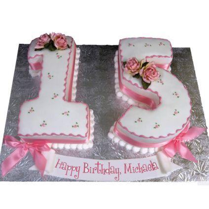 Loving Fondant Cake