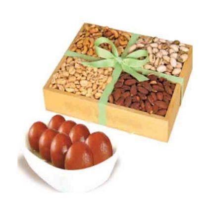 (loose) Gulab jamun with dry fruits