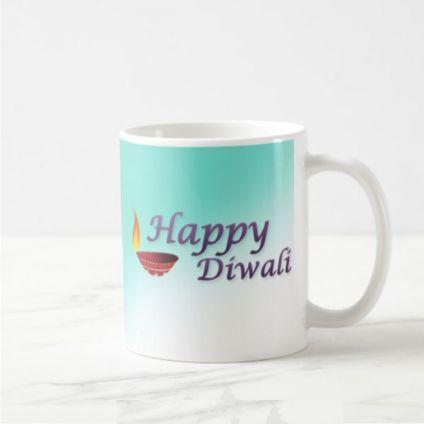 Black Diwali Mug
