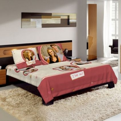 PERSONALIZED BEDSHEET PRINTED ALL OVER