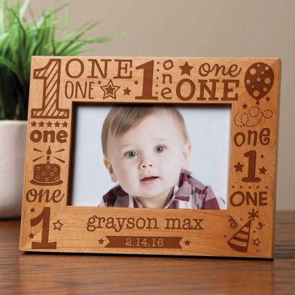 Birthday Wooden Photo Frame