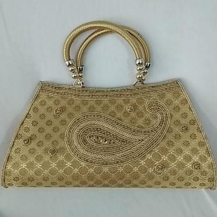 Golden bag for lady