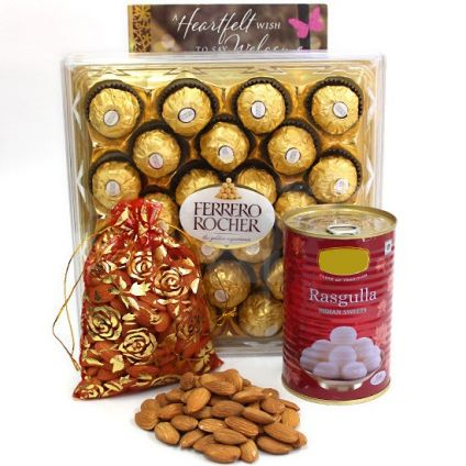 Ferrero Rocher With Dry Fruits Combo