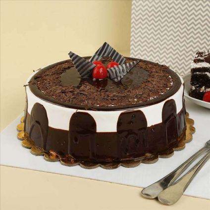 Luxury Chocolate Truffle cake