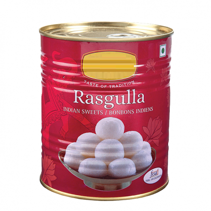 Tin Of Rasgulla Sweet