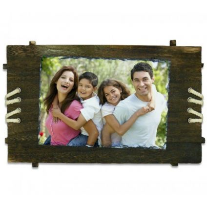 Personalized Granite Photo Frame