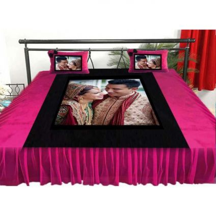 PERSONALIZED BEDSHEET WITH 7 PICTURES
