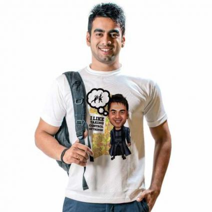 Cool Caricature T shirt