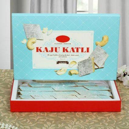 Box of Kaju Burfi