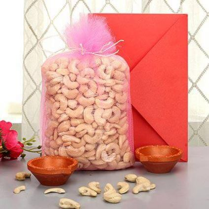 Cashew With Diwali Combo