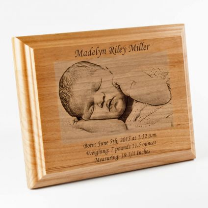 Personalized Wooden Engraving