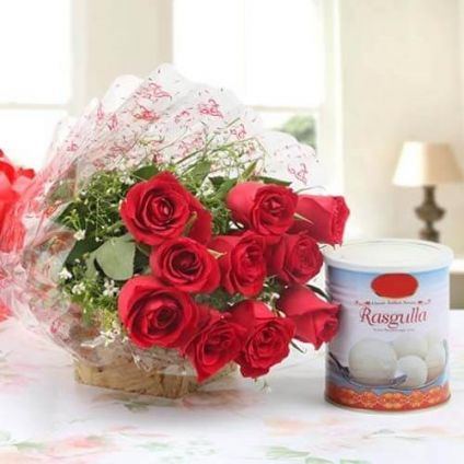 Red Roses and Rasgulla